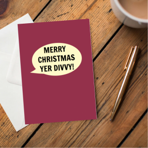 Unflittered Yorkshire Christmas Cards